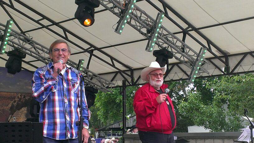 Larry Schuba und Jonny Hill 2013