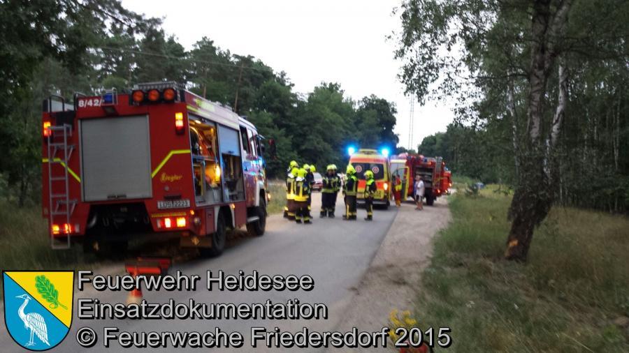 Einsatz 133/2015 Verkehrsunfall Richtung Deupo 12.08.2015