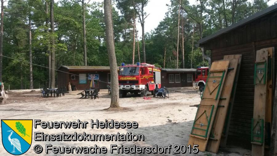 Einsatz 142/2015 Sturmschäden KIEZ Hölzerner See 17.08.2015