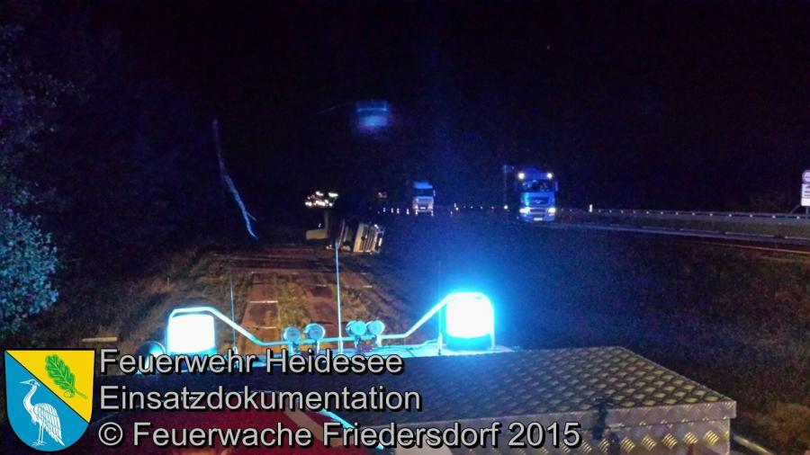 Einsatz 149/2015 VU PKW BAB 12 26.08.2015