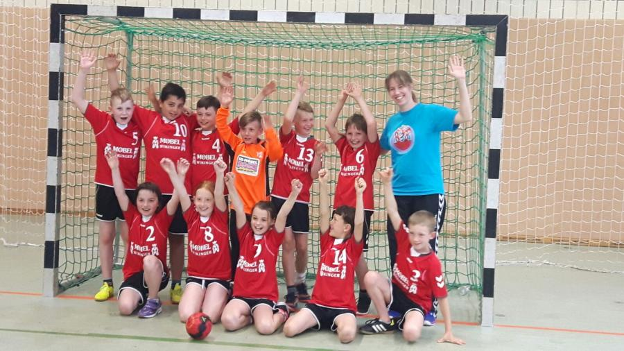 Kinderhandball Turnier 4.6. Chemnitz