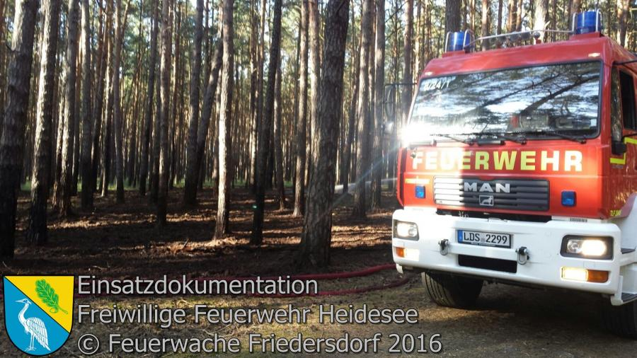 Einsatz 61/2016 | Nachlöscharbeiten Einsatz 60/2016 | Gräbendorf Am Dolgenhorst 06.06.2016