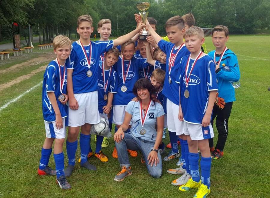 Pokalsieger D-Junioren 2015/15, Blau-Weiß Zorbau