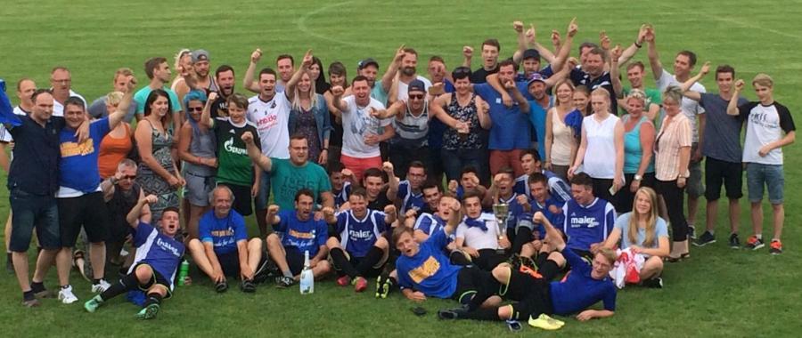 Kreispokalsieger 2015/16 der A-Junioren: FC ZWK Nebra(mit Fans)