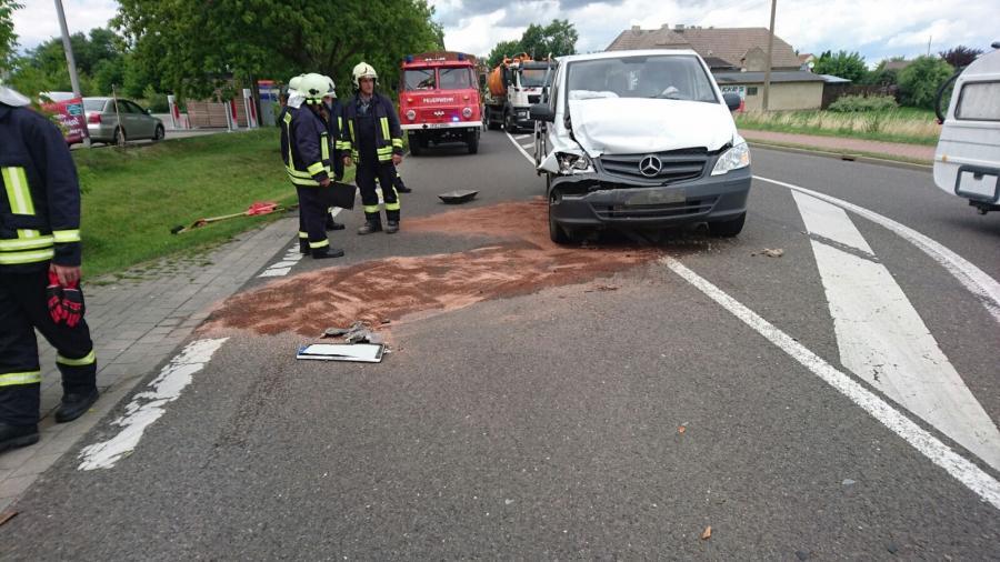 Verkehrsunfall in Hohengüstow