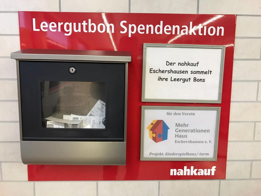 Spendenaktion Nahkauf