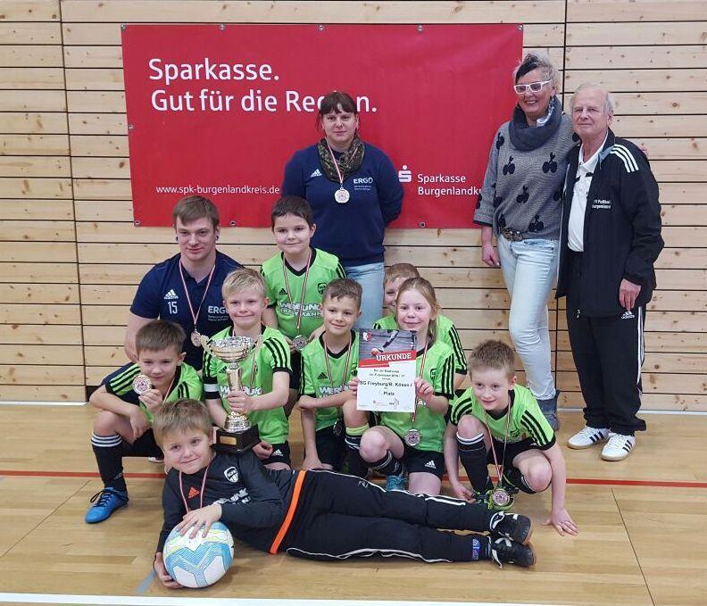 Hallenkreismeister 2017 der F-Junioren: SG Freyburg/Bad Kösen I