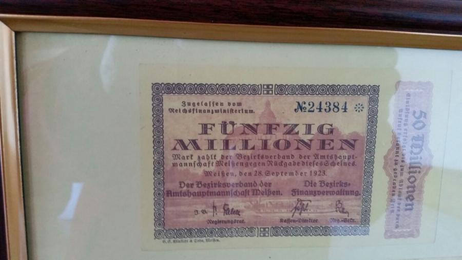 Geldschein von 1923 (2)