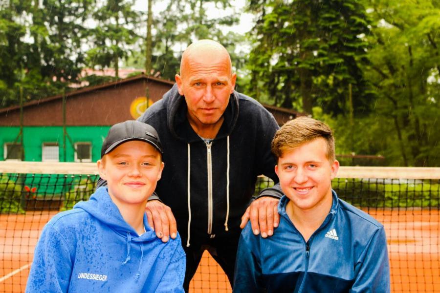 3 Trainer des TC Wusterhausen