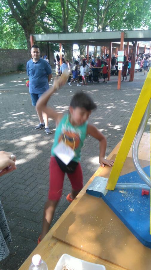 Sommerfest Erbsenschlagen 2017
