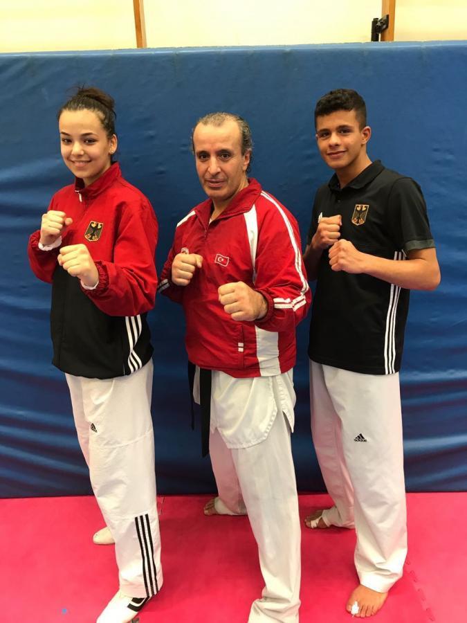 Teilnehmer an der Junioren EM