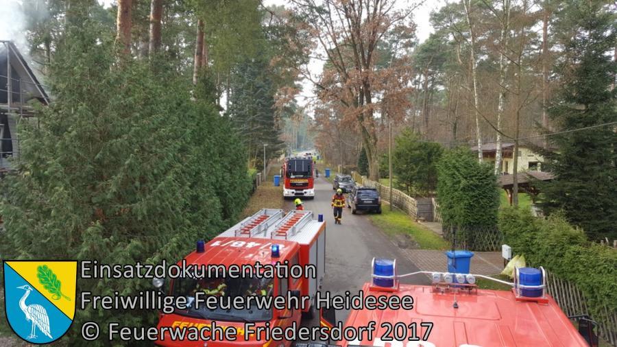 Einsatz 329/2017 | Kaminbrand | Bindow Drosselweg | 30.11.2017