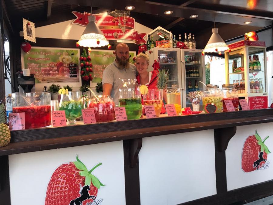 Frucht-Bowle Hütte