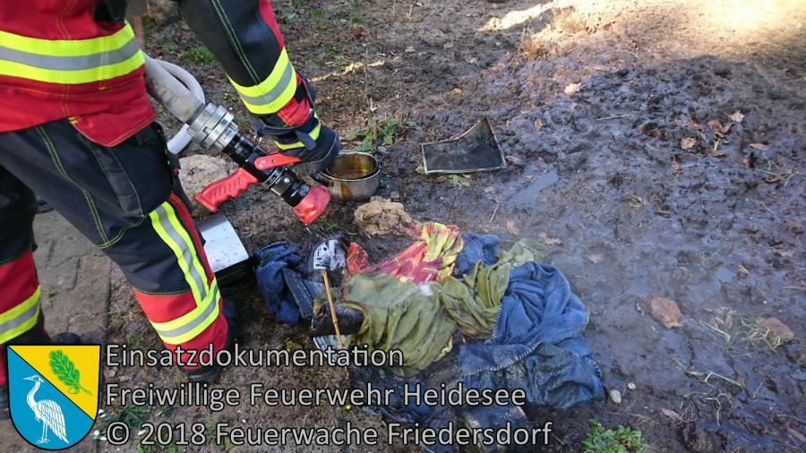 Einsatz 13/2018 | Küchenbrand | Bindow Hirschsprung | 23.02.2018
