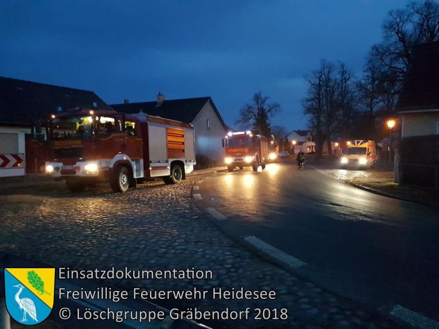 Einsatz 19/2018 | Gasgeruch | Gräbendorf | 11.03.2018