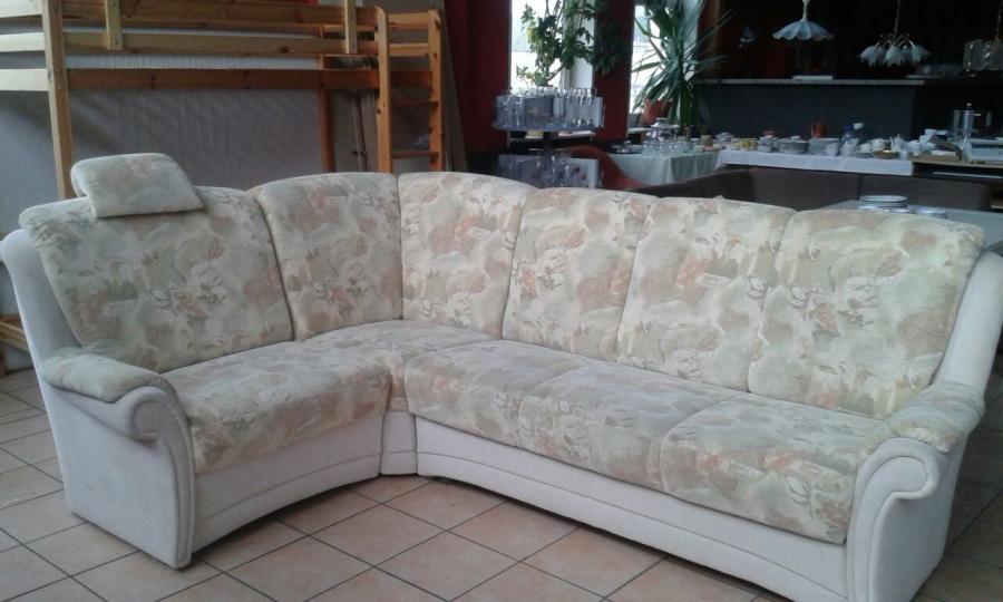 Sofa beige / grau