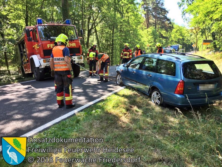 Einsatz 74/2018 | VU 2x PKW | L39 OV Blossin - Friedersdorf | 29.06.2018