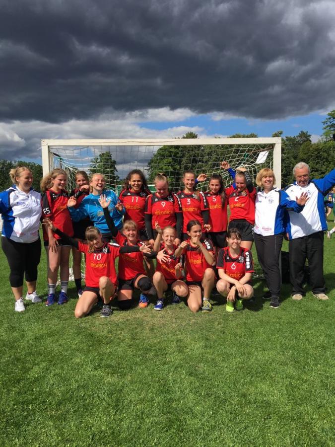 C-Jugend Team - Berlin Cup Sieger 2018