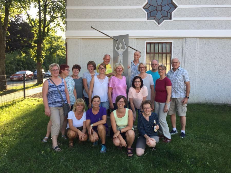 Ferienprogramm Wandergruppe