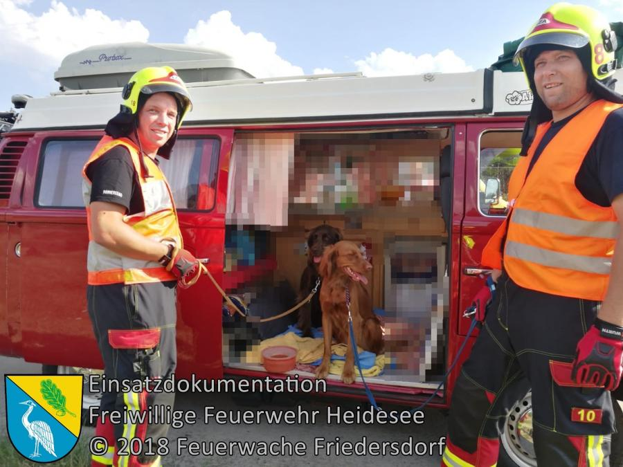 Einsatz 101/2018 | VU mehrere PKW | BAB 10 AD Spreeau | 28.07.2018