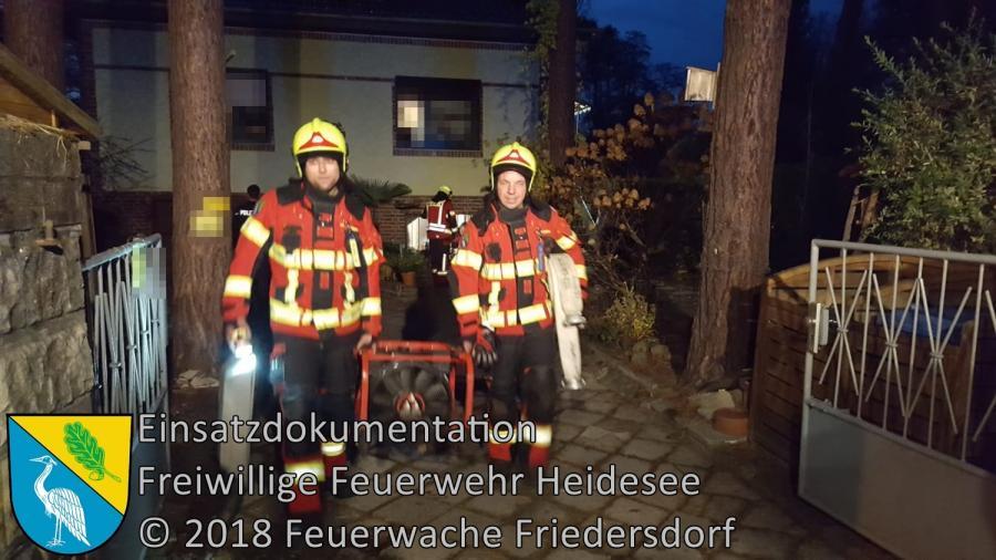 Einsatz 149/2018 | Schornsteinbrand | Bindow Neptunstraße | 10.11.2018