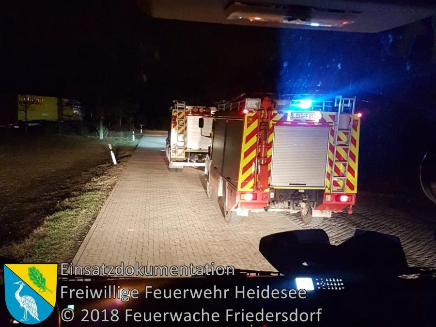 Einsatz 155/2018 | VU 2x PKW | BAB 10 AD Spreeau - AS Niederlehme | 27.11.2018