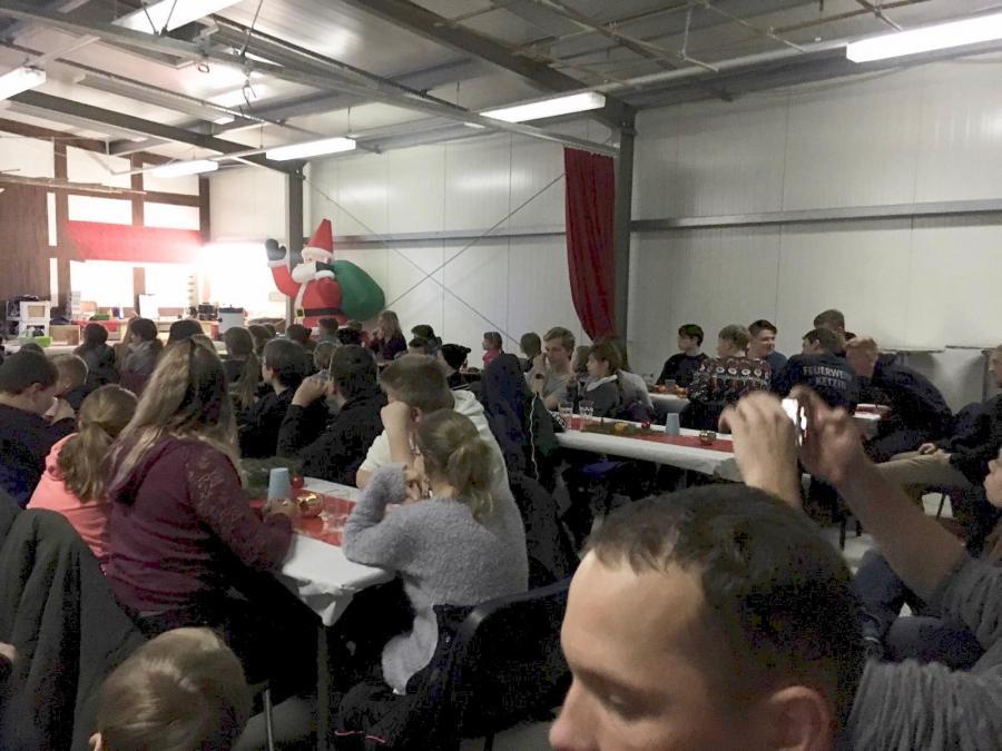 Weihnachtsfeier Jugendfeuerwehren