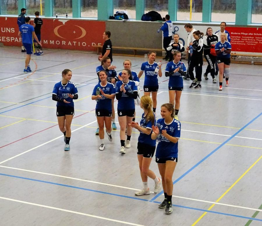 Das siegreiche Team der HSV04  A-Jugend