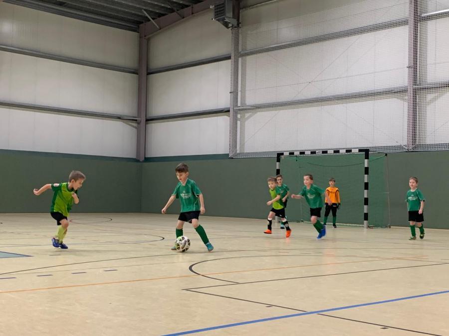 Bambini-Fußballer