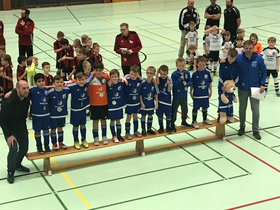 U08: F2-Jugend – Vizemeisterschaft errungen