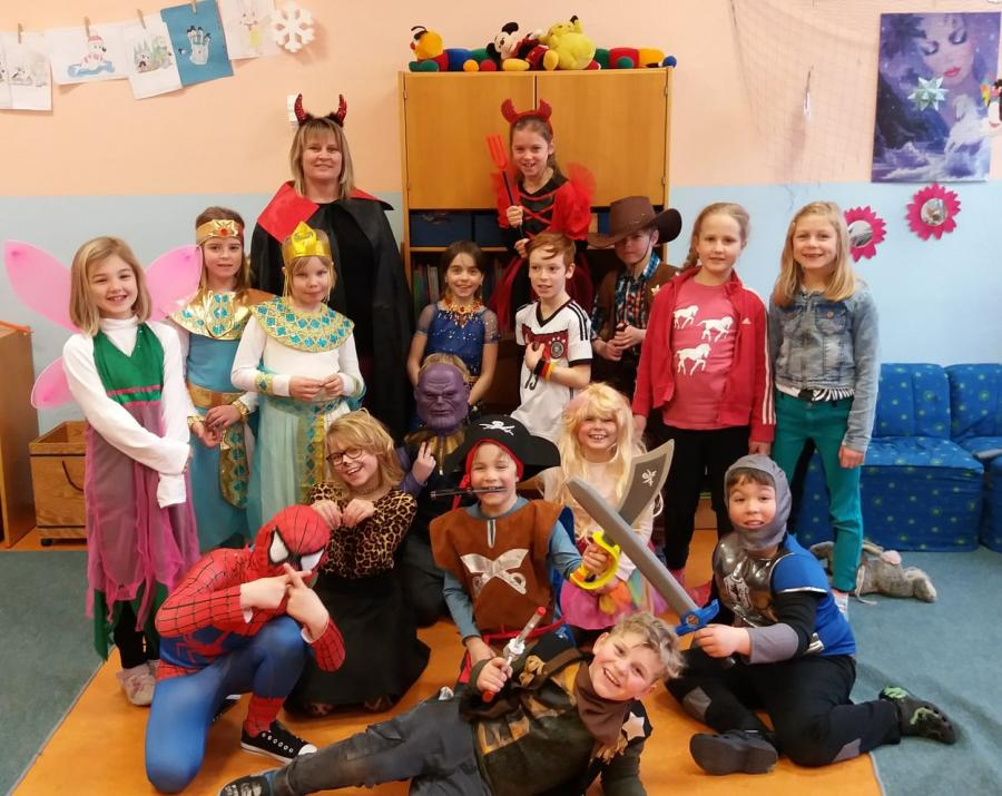 Fasching in der 2b