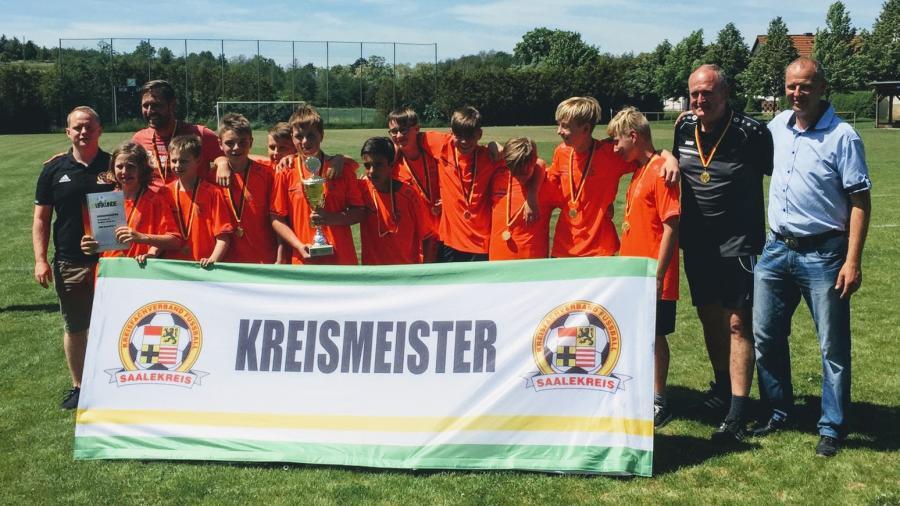 Kreismeister D-Junioren 18/19 // JSG Geiseltal I