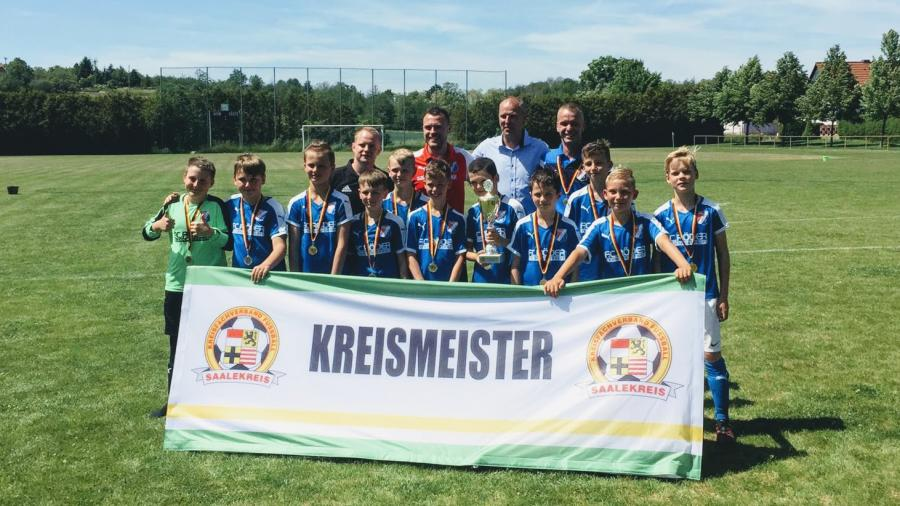 Kreismeister E-Junioren 18/19 // VfB IMO Merseburg