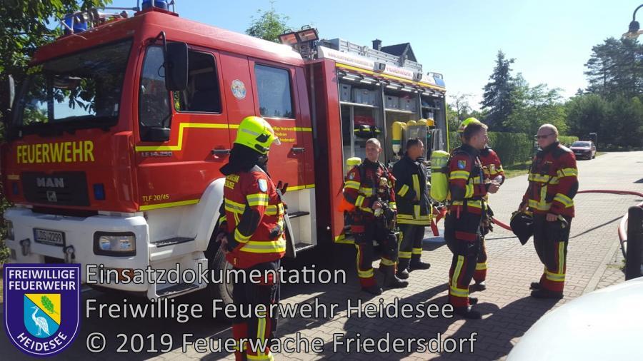 Einsatz 59/2019 | Küchenbrand | Friedersdorf Koppenhagener Straße | 09.06.2019