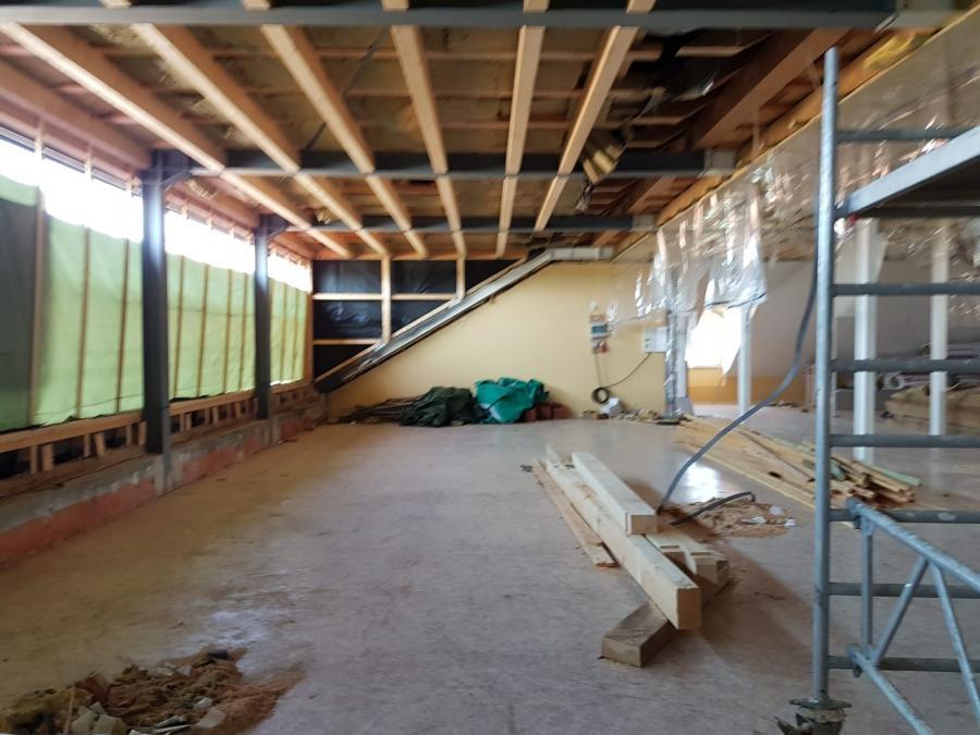 Umbau Aula - Foto 10.10.2019