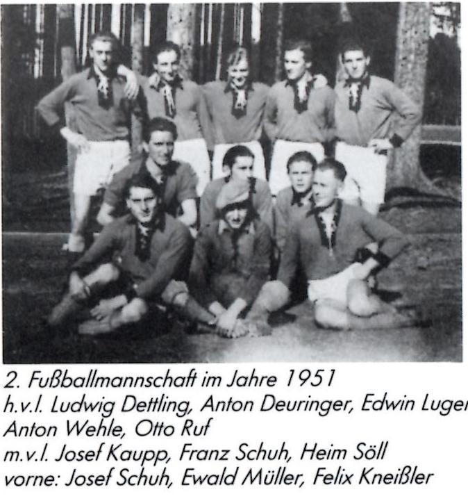 Mannschaft 1951