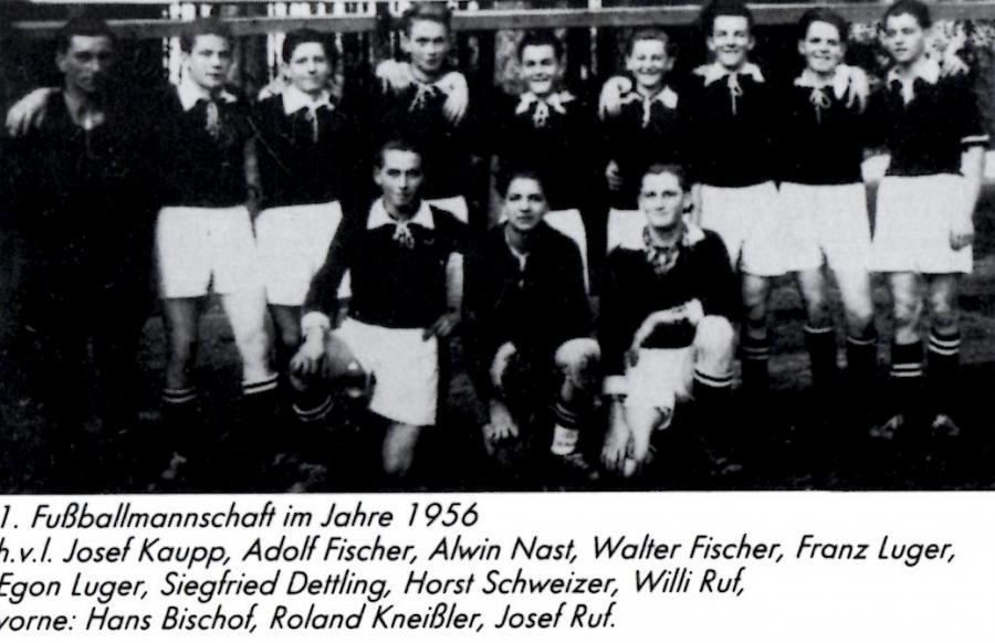 Mannschaft 1956