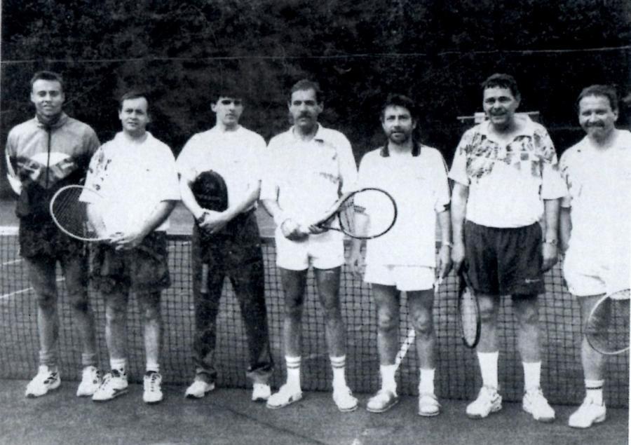 Tennis 2. Herren 1996
