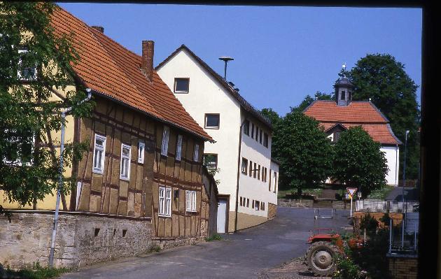Bild: ehemalige Schule in Mariendorf aus dem Jahr 1823