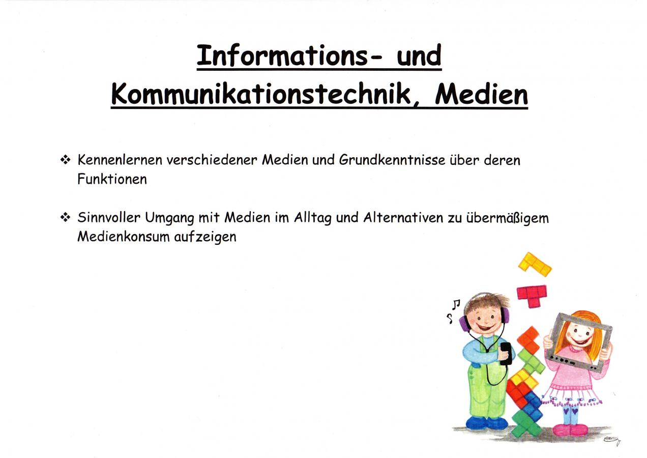 Informations- und Kommunikationstechnik, Medien