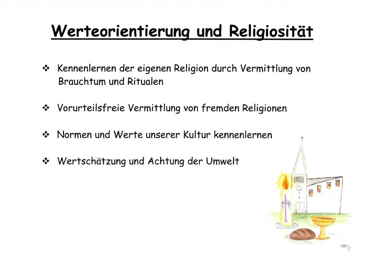 Werteorientierung und Religiosität