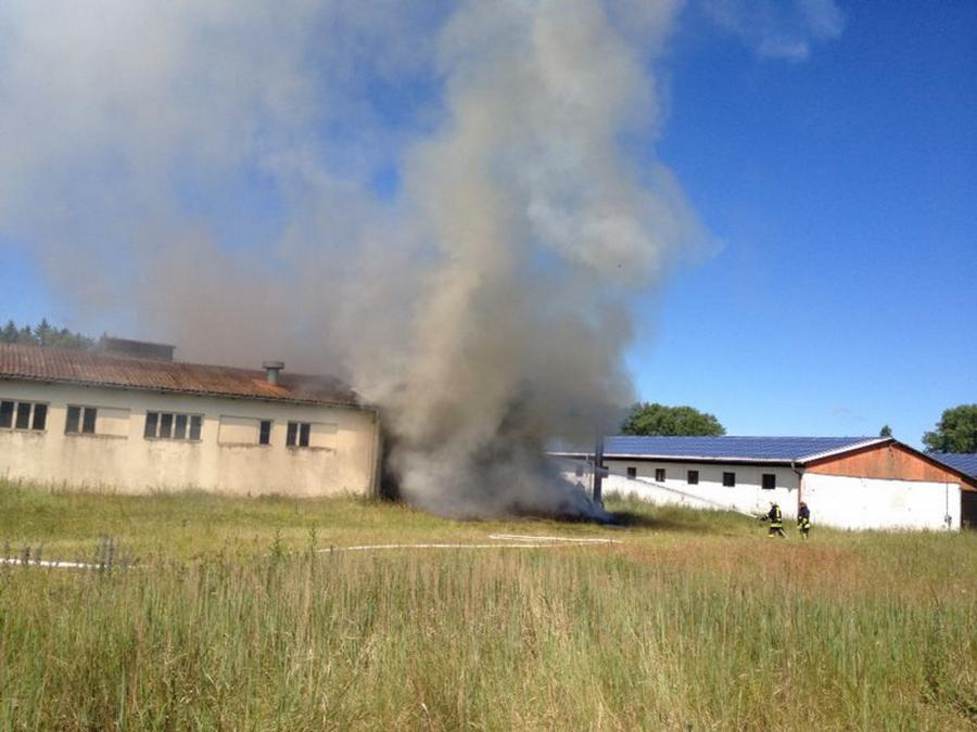 Heumietenbrand Karnitz