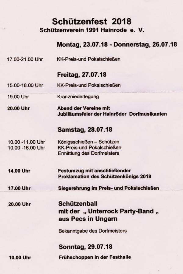 Einla Schützenfest