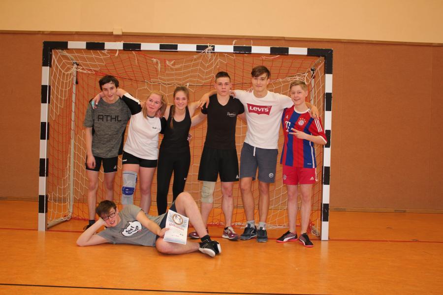 Die Sieger der Schulmeisterschaften im Handball