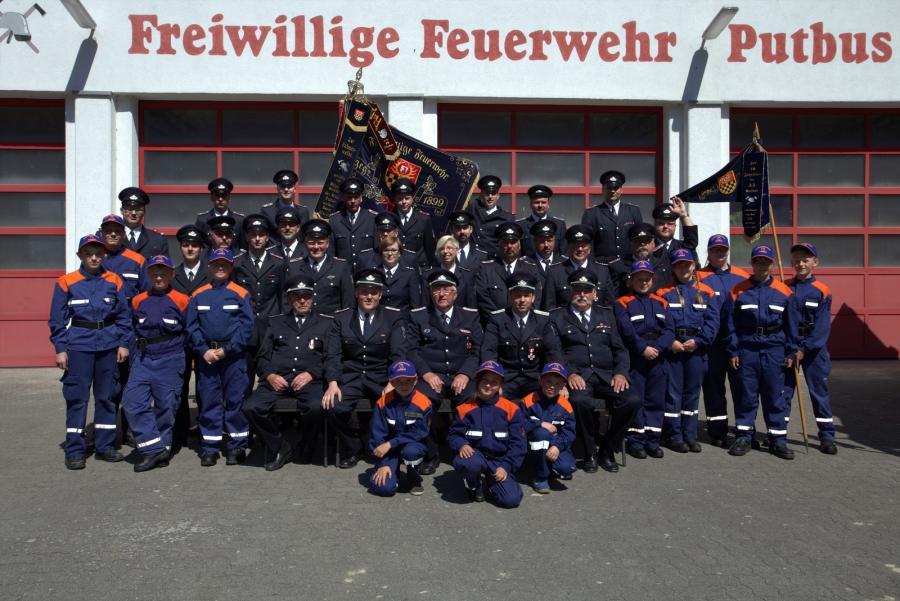 Gruppenfoto FF Putbus 2016