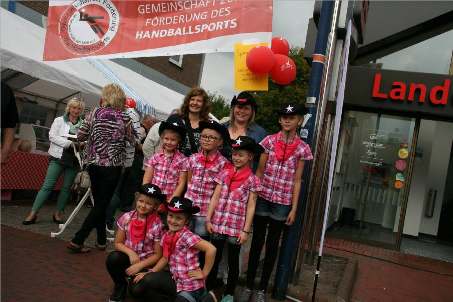 Auftritt auf dem Huder Bürgerfest 2014