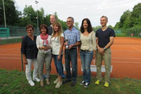 Tennis-VM 2017 - die Erstplazierten