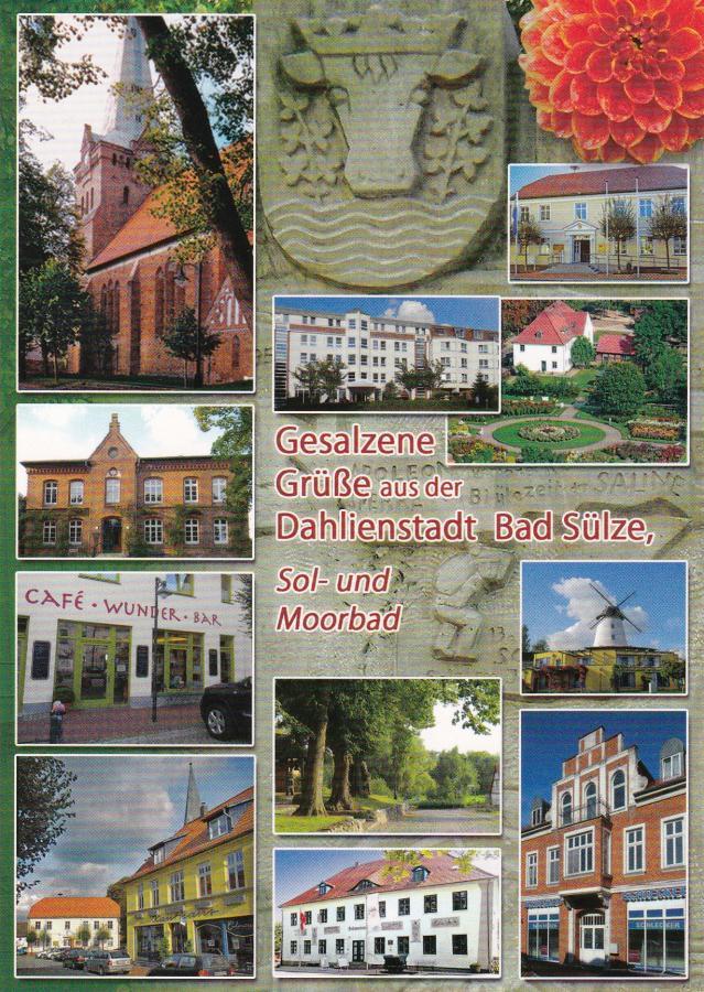 Gesalzene Grüße aus der Dahlienstadt Bad Sülze