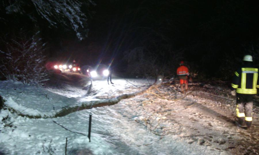 Verkehrsunfall Unternaglbach 1