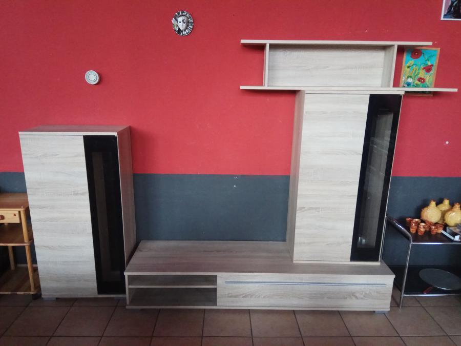 moderne kleine Schrankwand